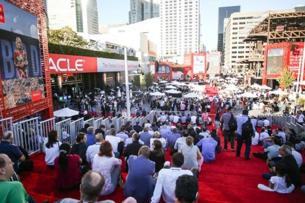 Oracle OpenWorld Las Vegas convention