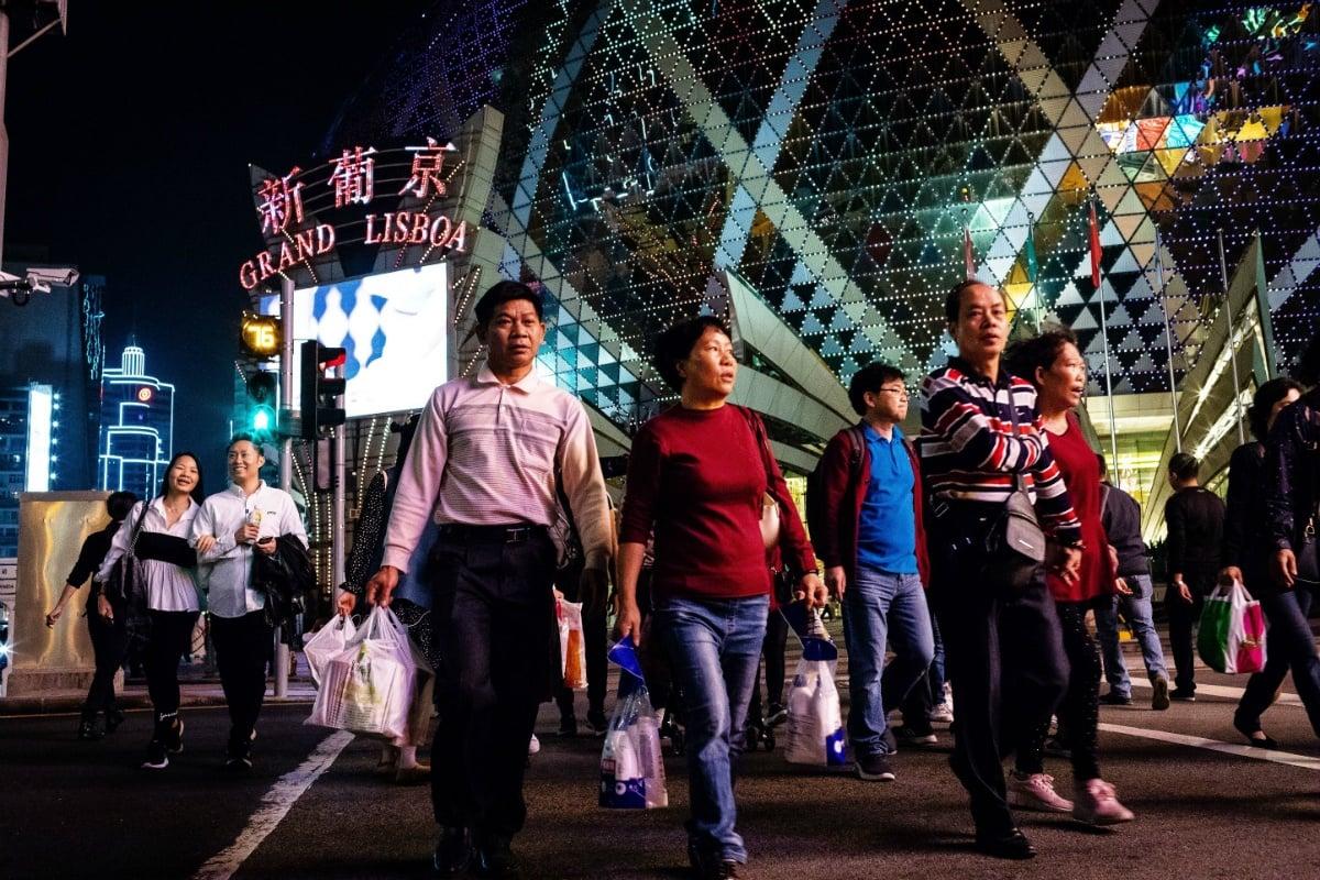 Macau mass market GGR casino