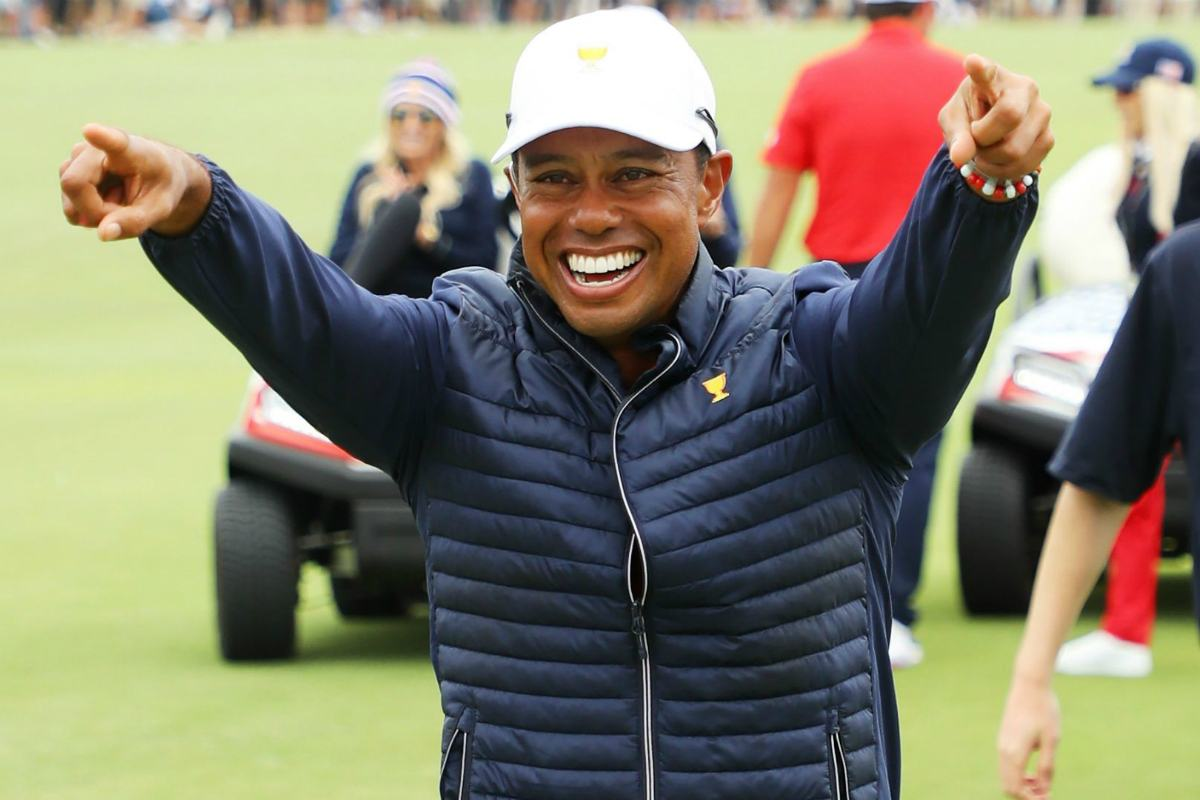 Tiger woods wife 2020