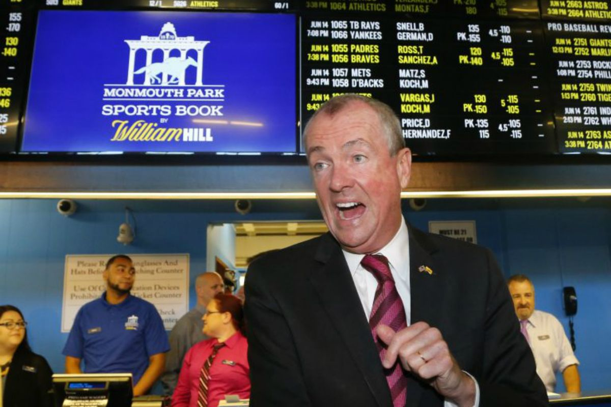 New Jersey sports betting tax