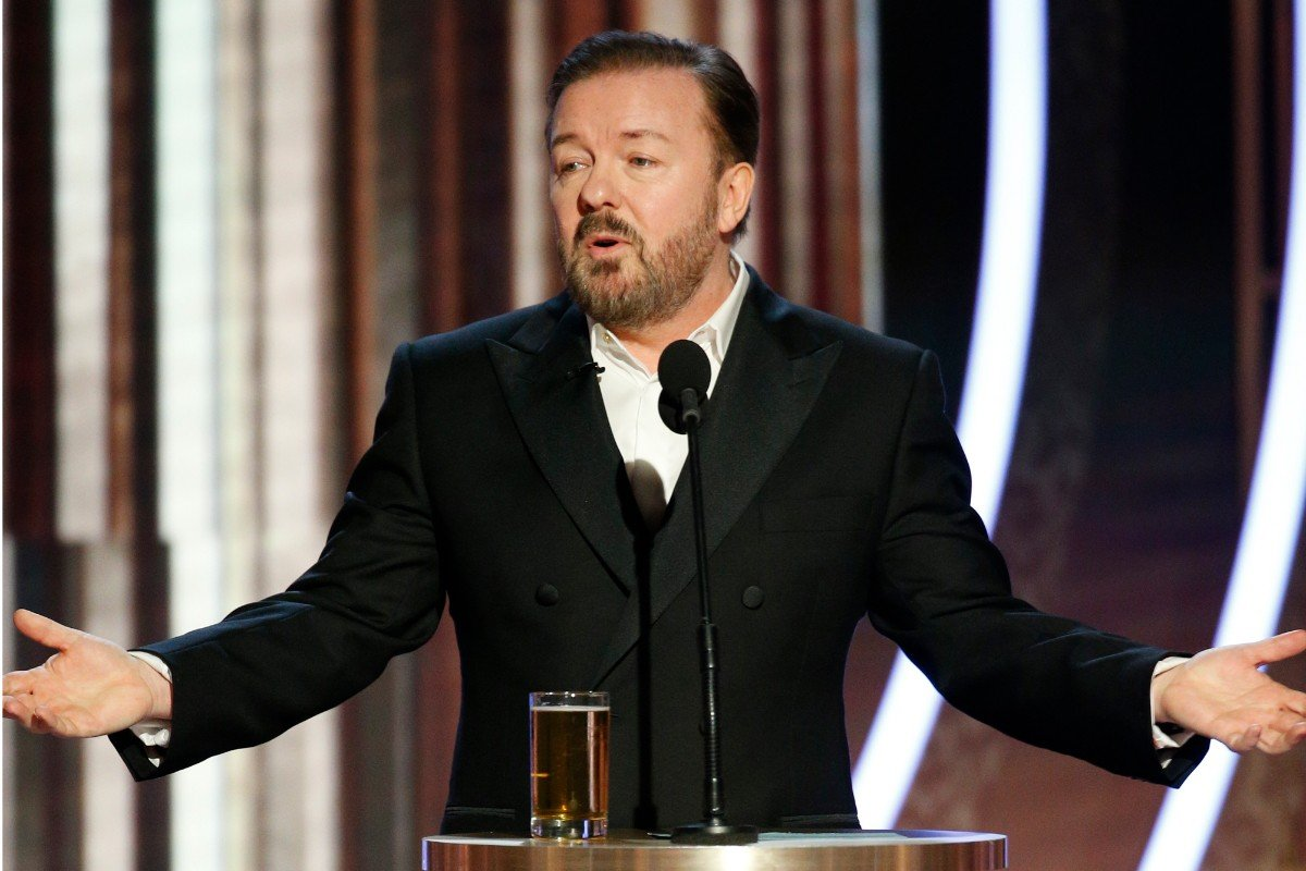 Golden Globes odds Ricky Gervais