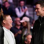 Patriots QB Tom Brady Spotted Hanging With Las Vegas Raiders Owner Mark Davis