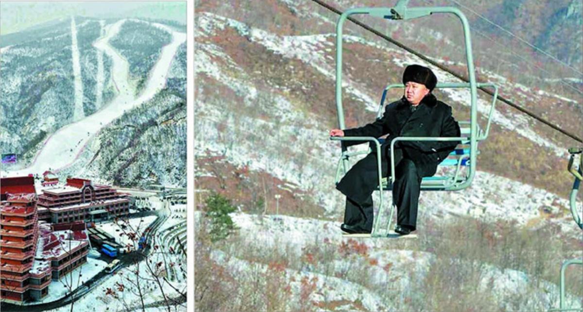 North Korea casino Kim Jong Un