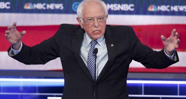 Bernie Sanders debate odds 2020