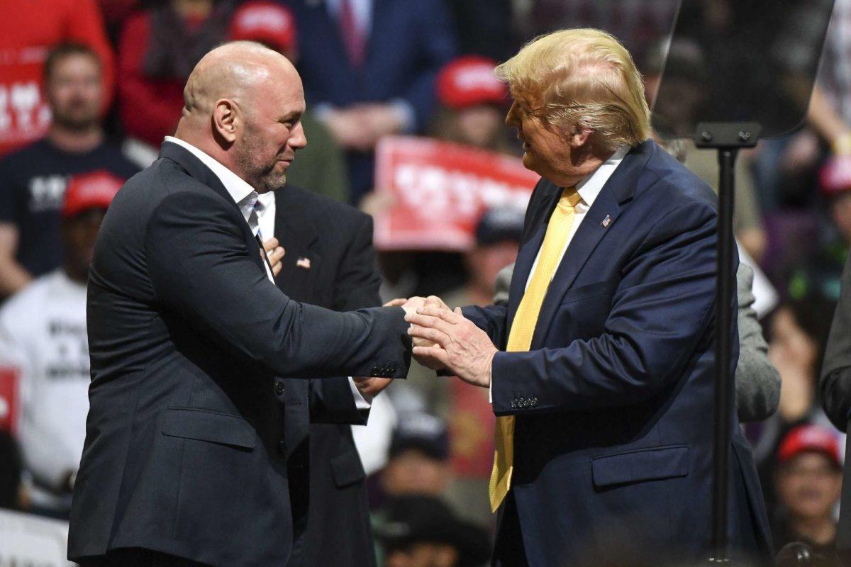 Dana White Trump campaign donors