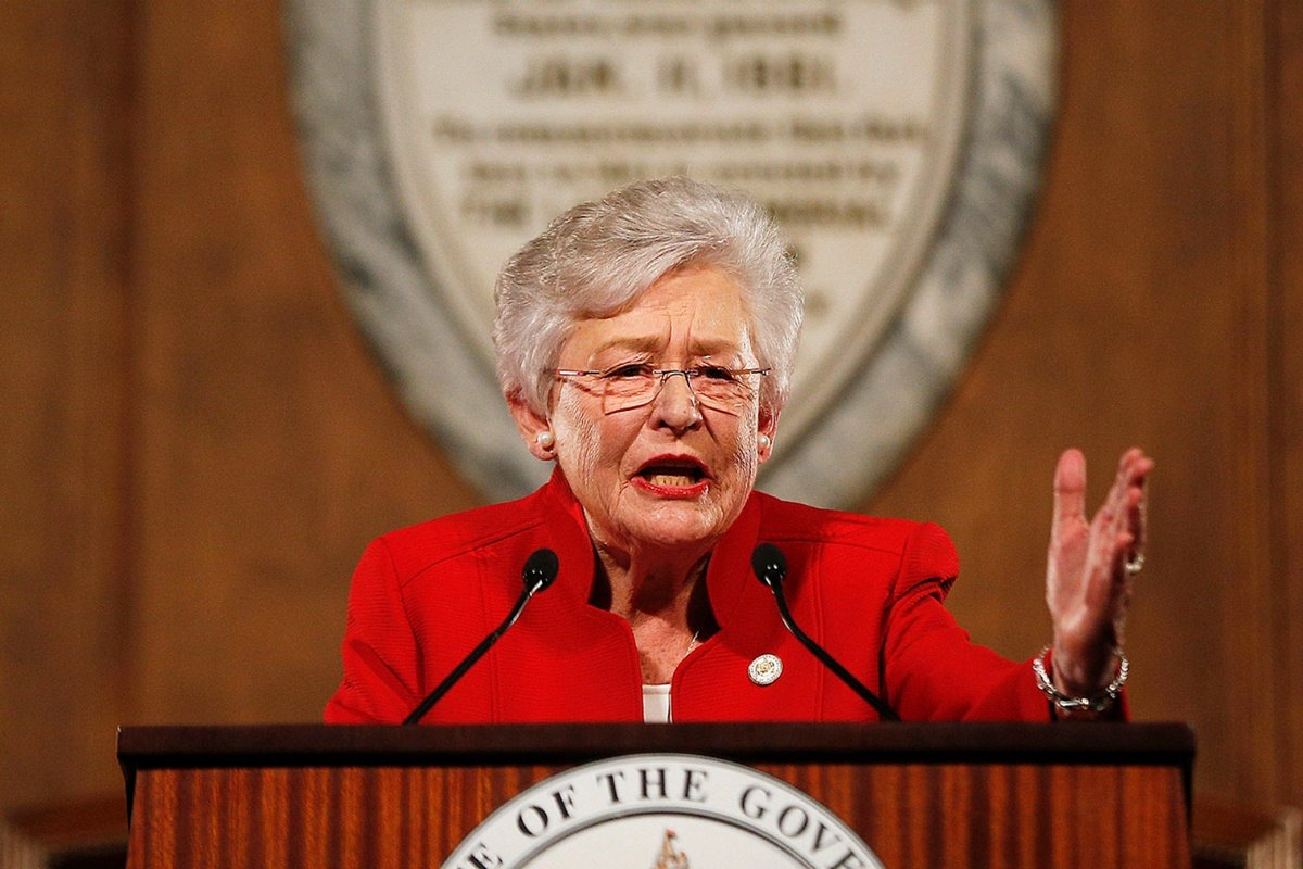 Kay Ivey Alabama casino lottery