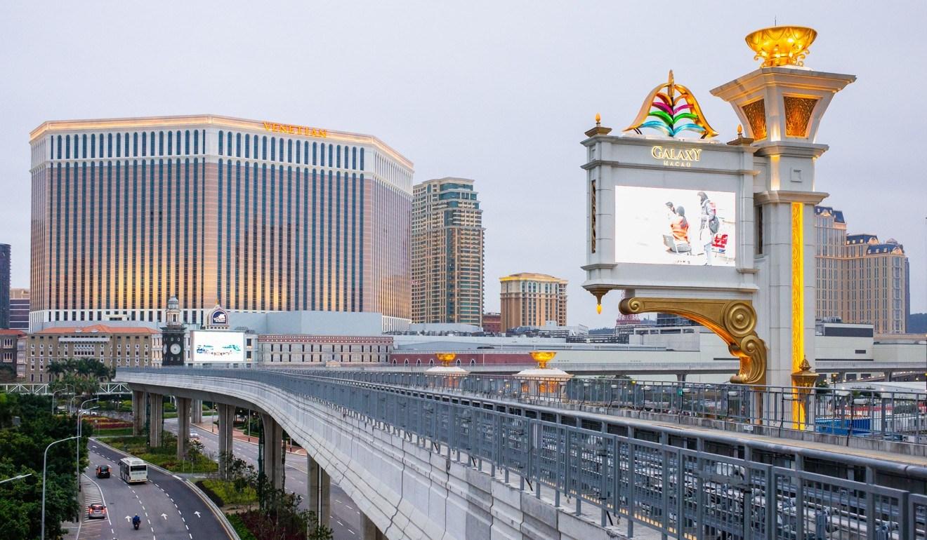Galaxy Macau casino resort construction