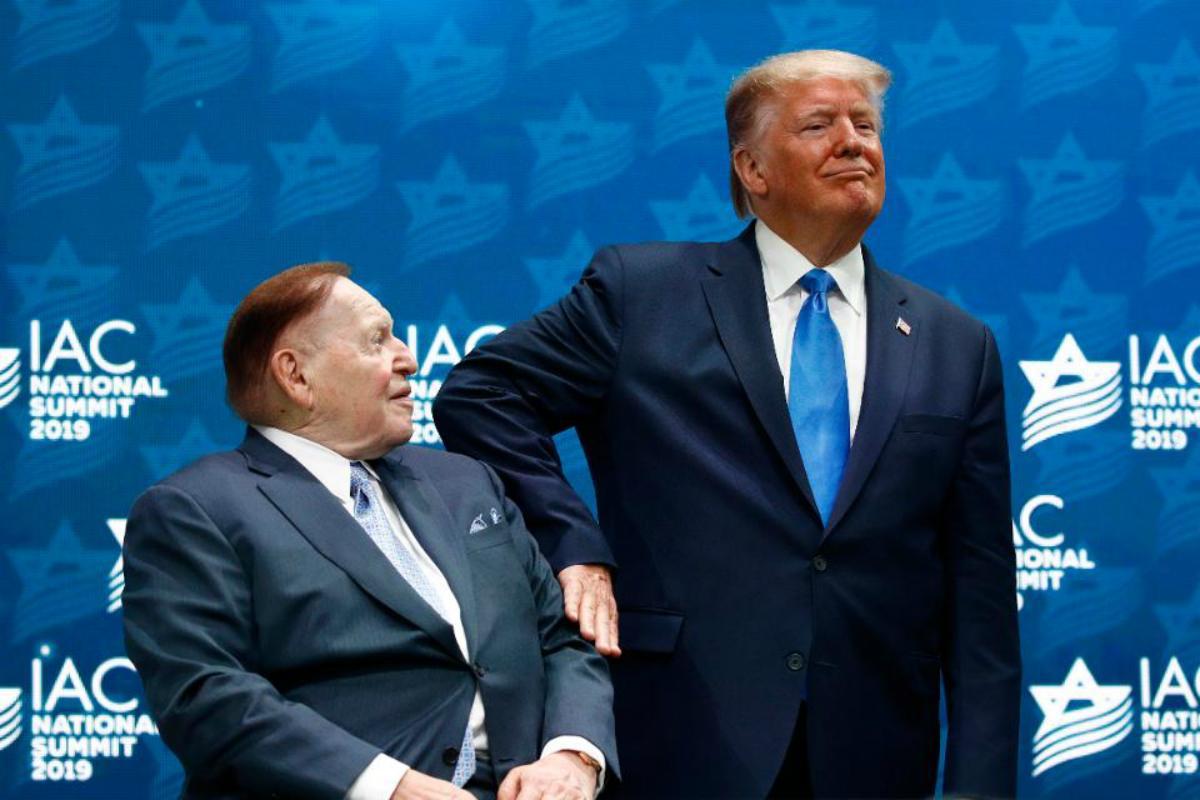 coronavirus casino tycoon Sheldon Adelson