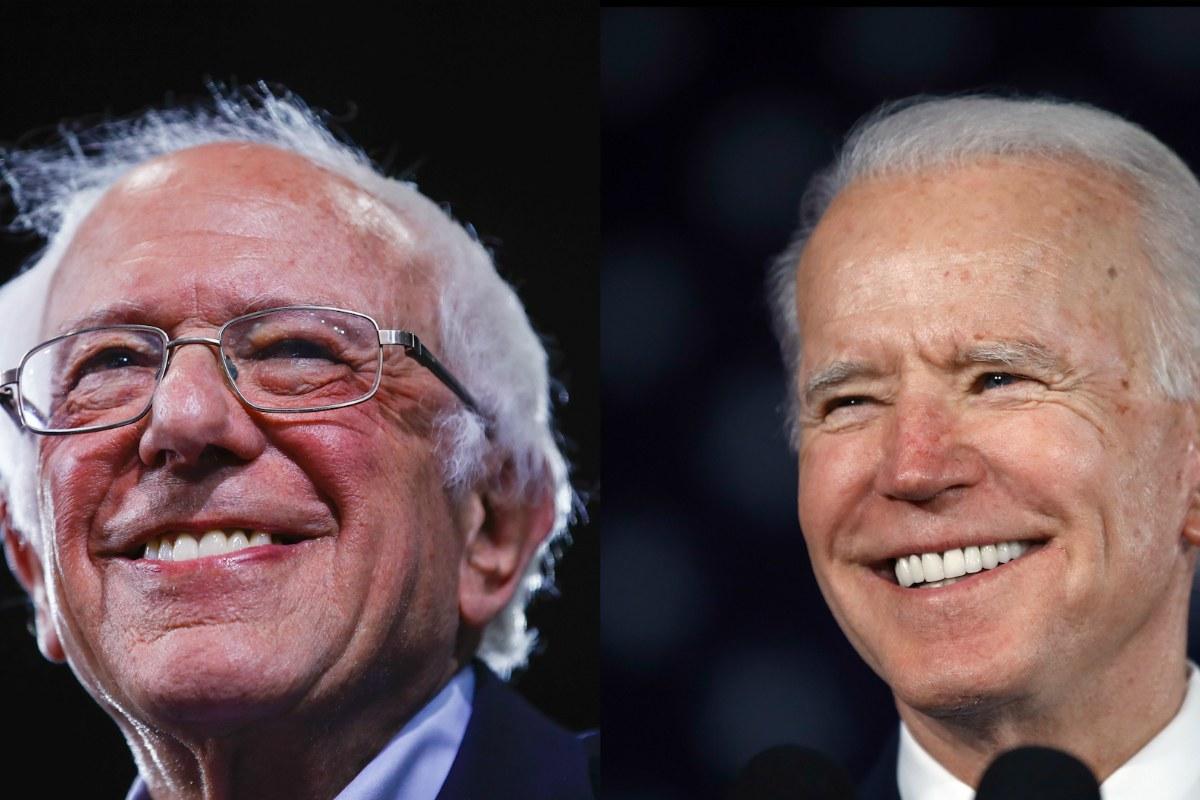 Joe Biden 2020 odds Bernie Sanders