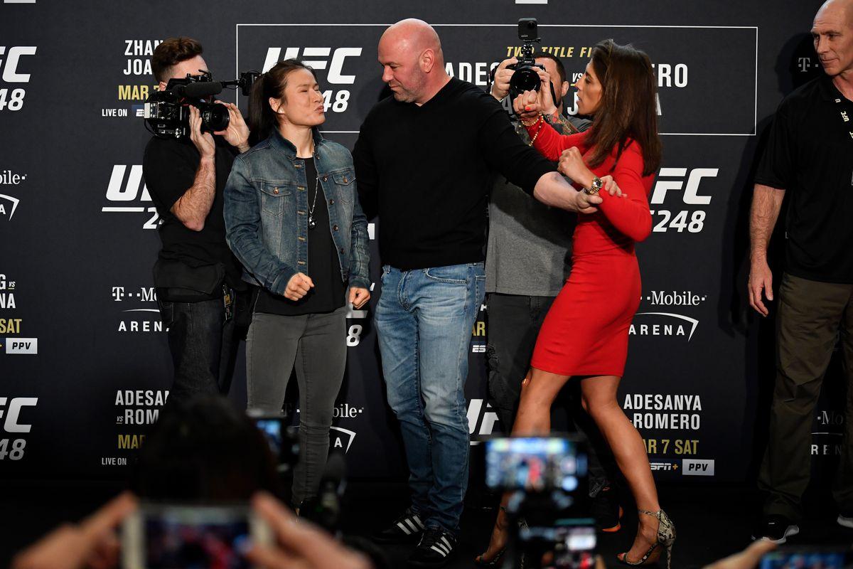UFC 248 Adesanya Zhang