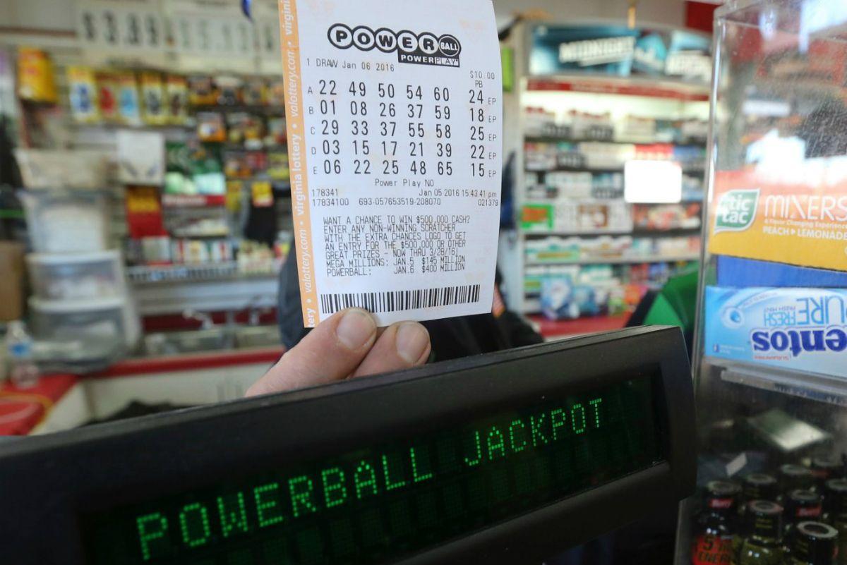 Powerball jackpot lottery coronavirus