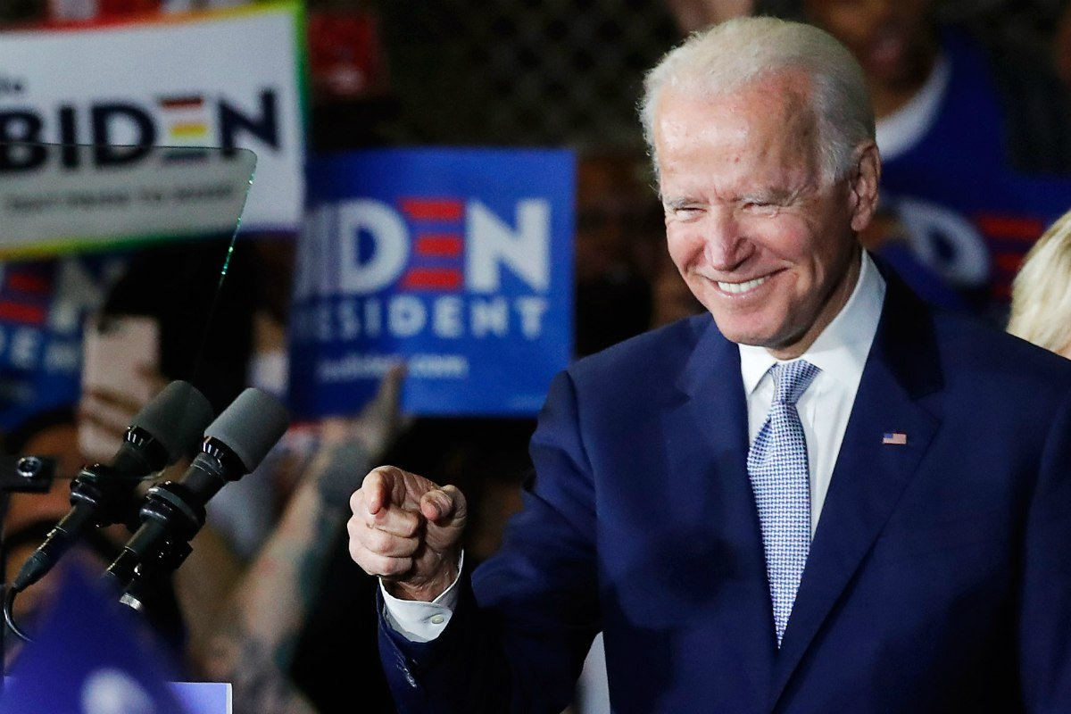 Joe Biden 2020 odds political betting
