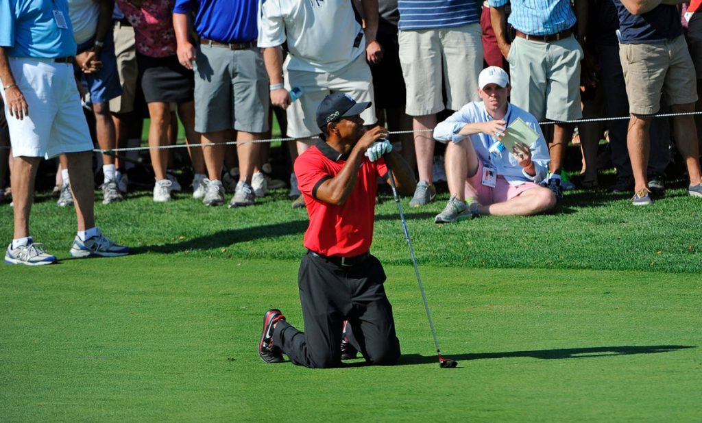 Tiger Woods Back Injury Lengthens 2020 Masters Odds