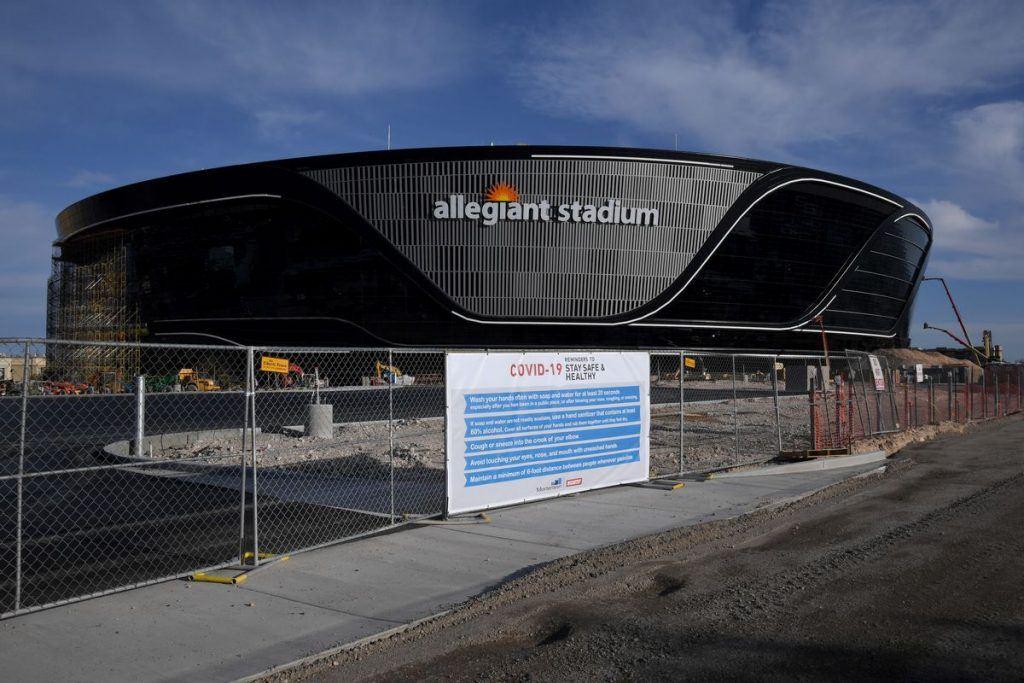 Allegiant Stadium Vegas Raiders COVID-19