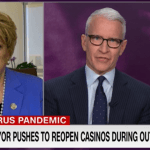 Las Vegas Mayor Goodman Tells CNN She Offered America's Playground As America's Petri Dish In Outbreak