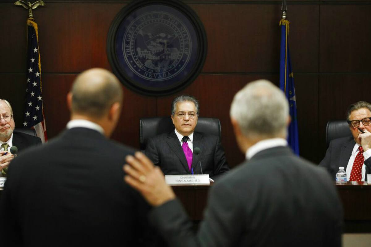 Nevada Gaming Commission Tony Alamo