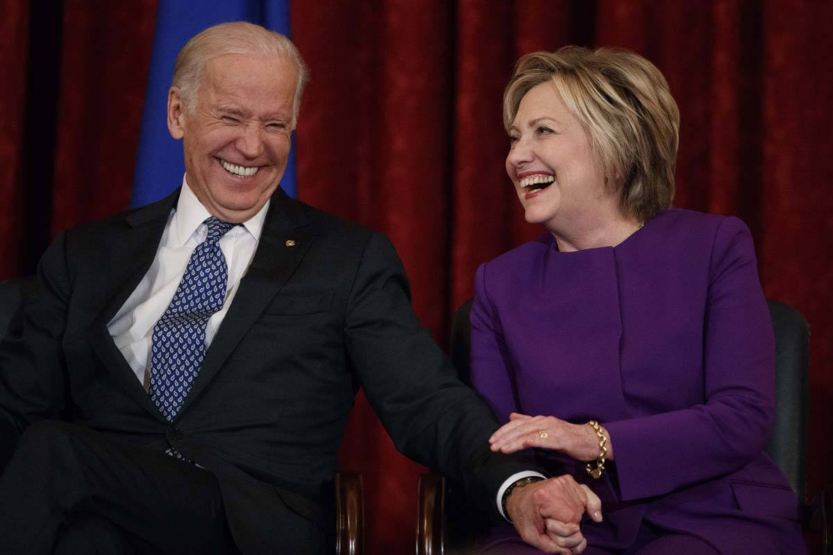 Hillary Clinton Joe Biden odds 2020