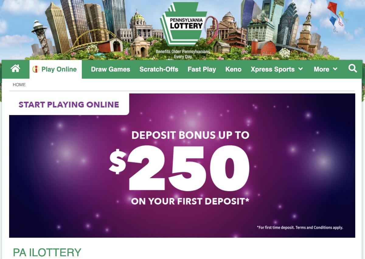 online lotteries coronavirus