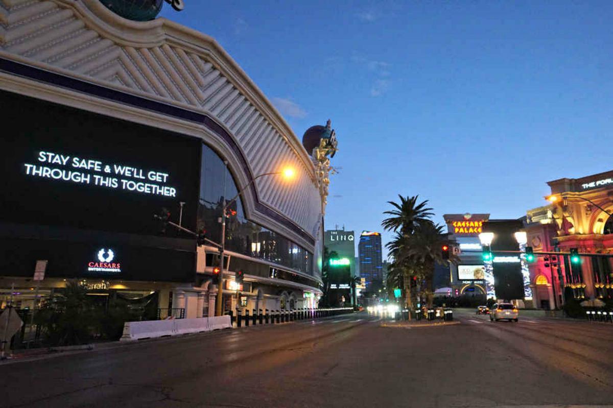 Nevada casinos Las Vegas coronavirus