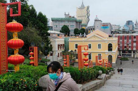 Macau visitor arrivals China coronavirus