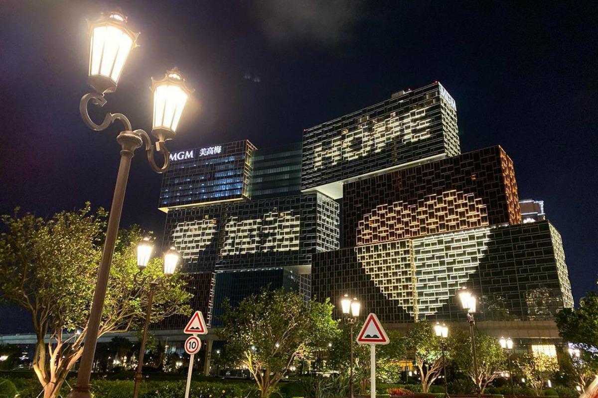 Macau casino revenue DICJ