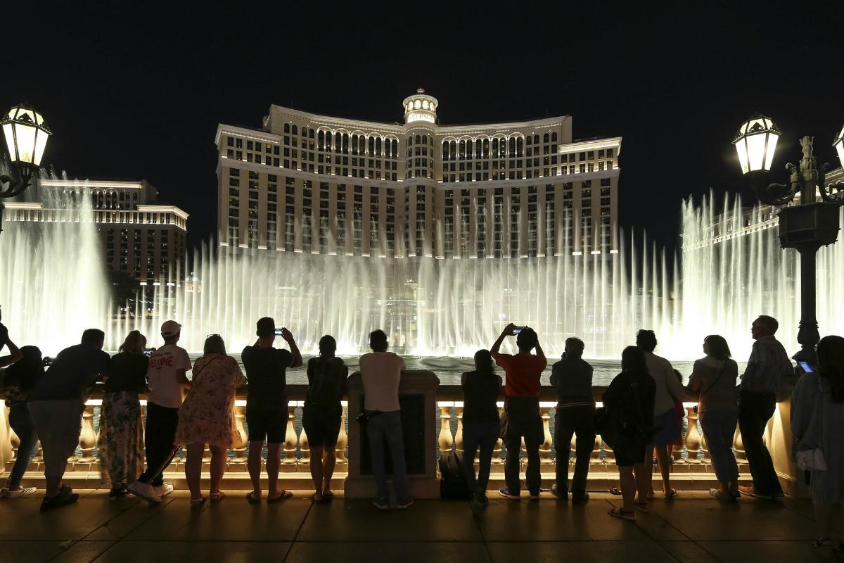 Bellagio fountains MGM Las Vegas