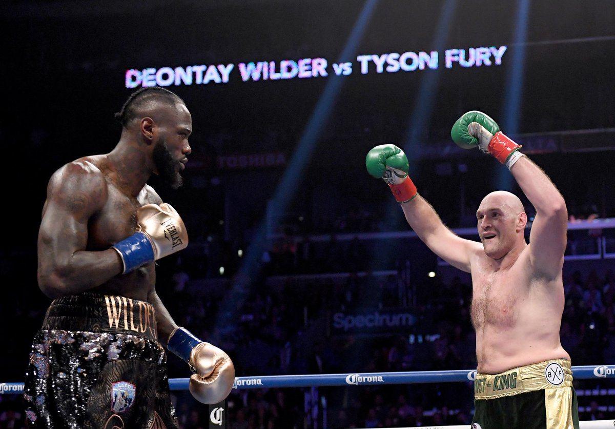 Tyson Fury Deontay Wilder Macau boxing