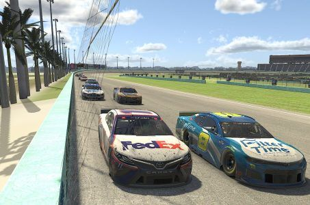 NASCAR IMG Arena virtual racing