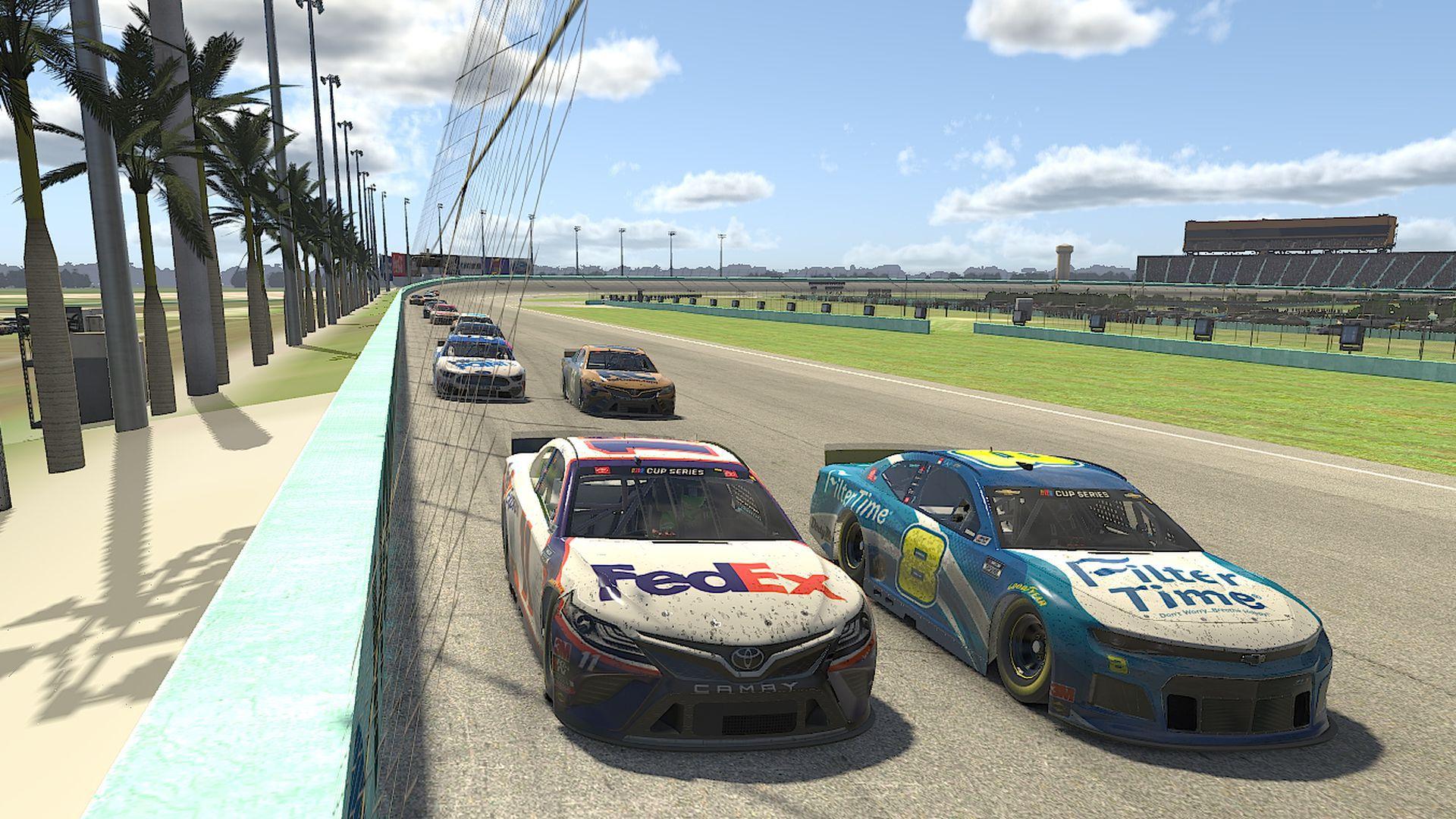 NASCAR IMG Arena virtual racing