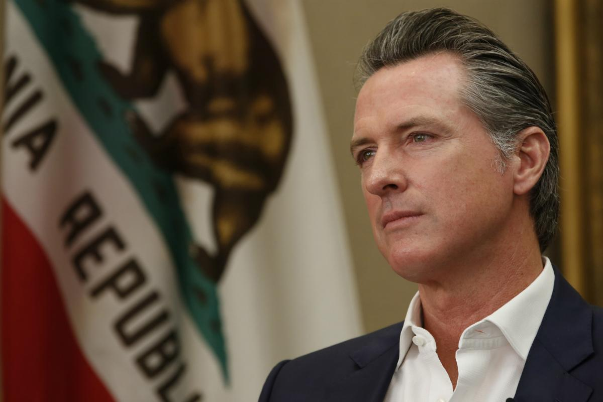 California casinos tribes Gavin Newsom