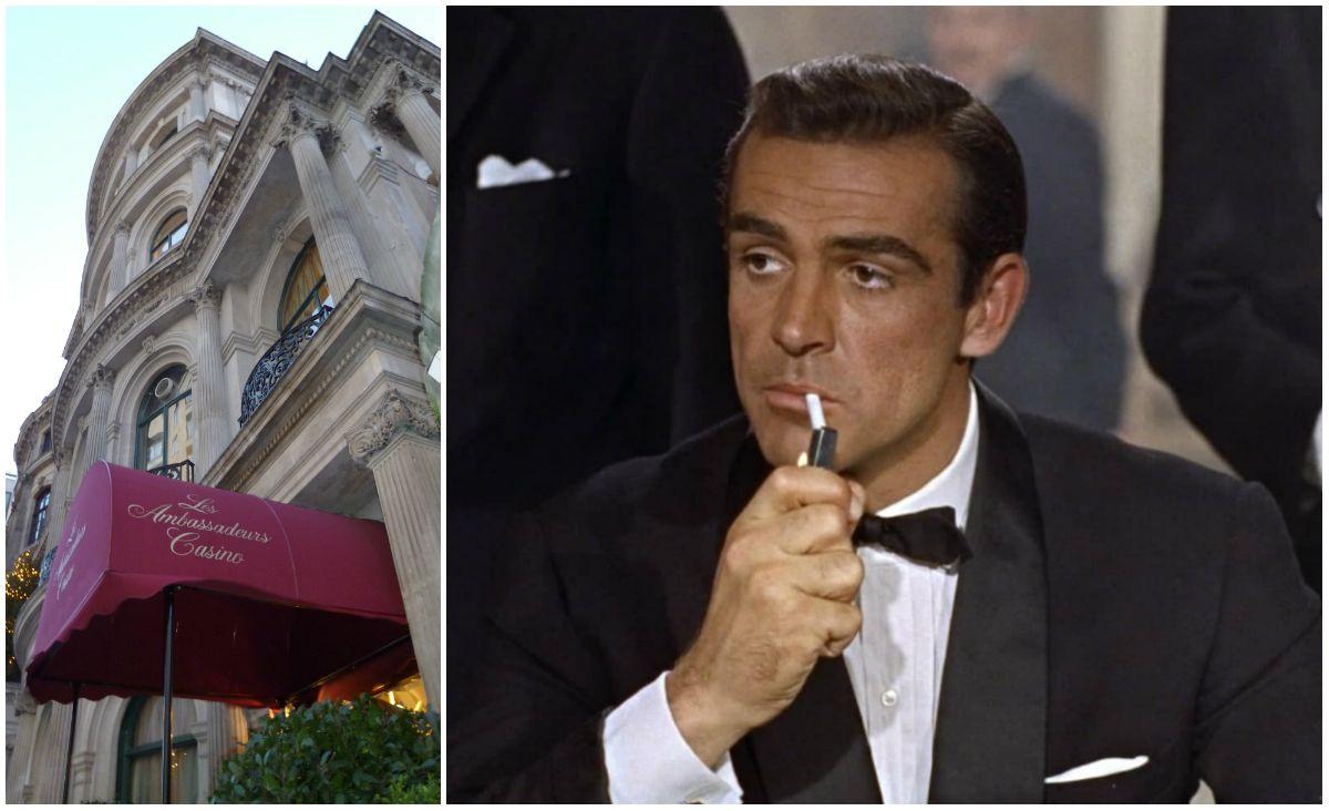 London casino Les Ambassadeurs Bond