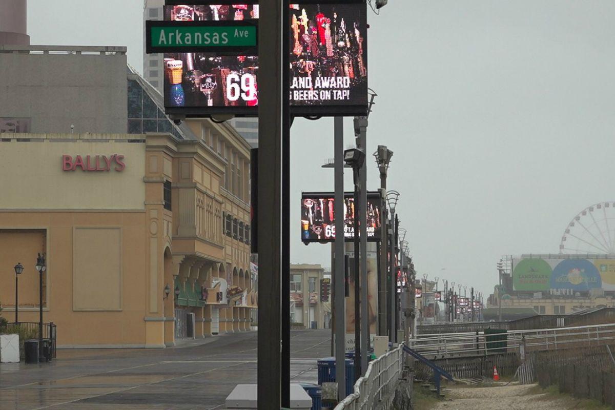 Atlantic City casinos revenue GGR