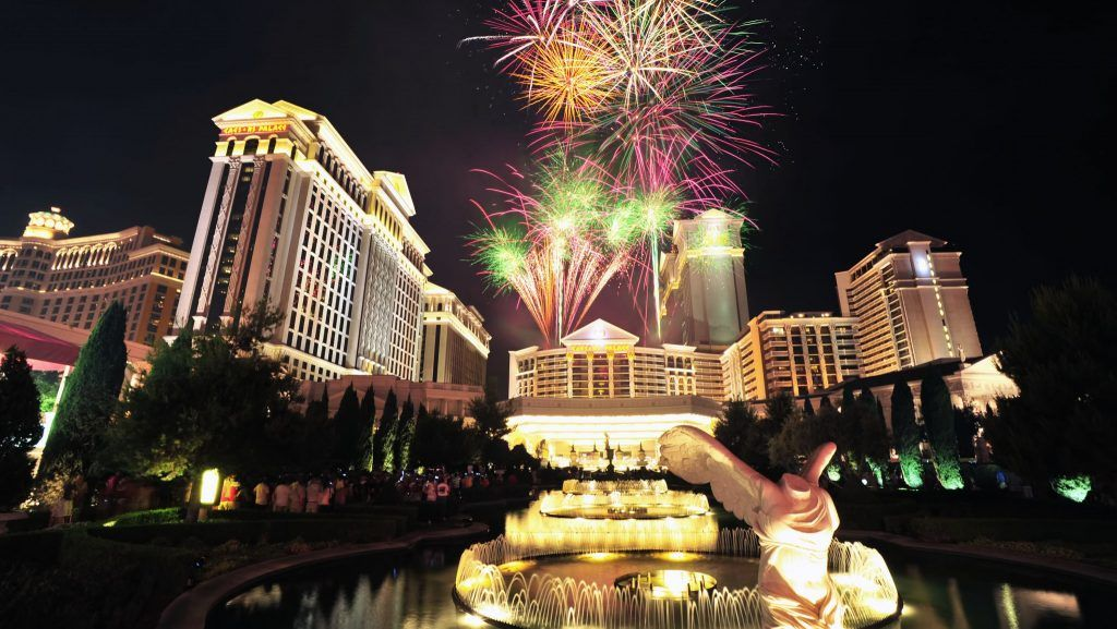 Caesars Vegas reopening