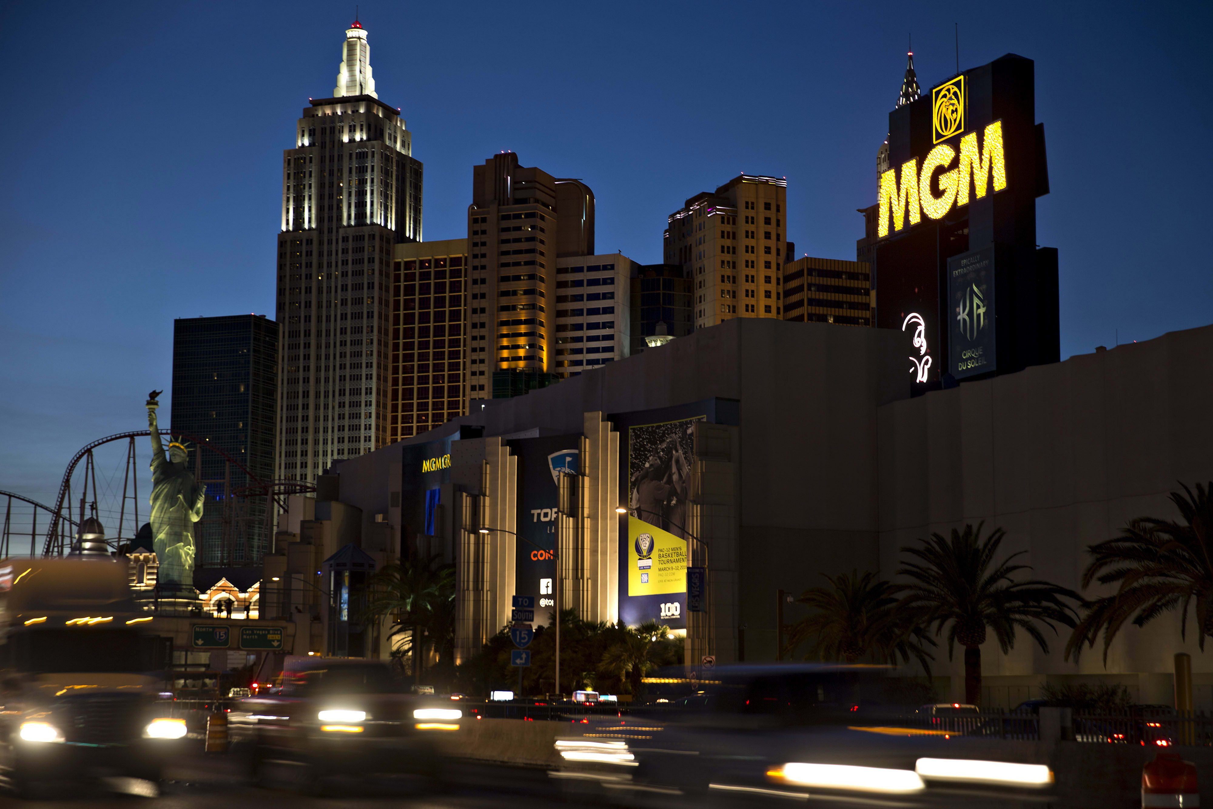 MGM Suffers Sell-Side Blues