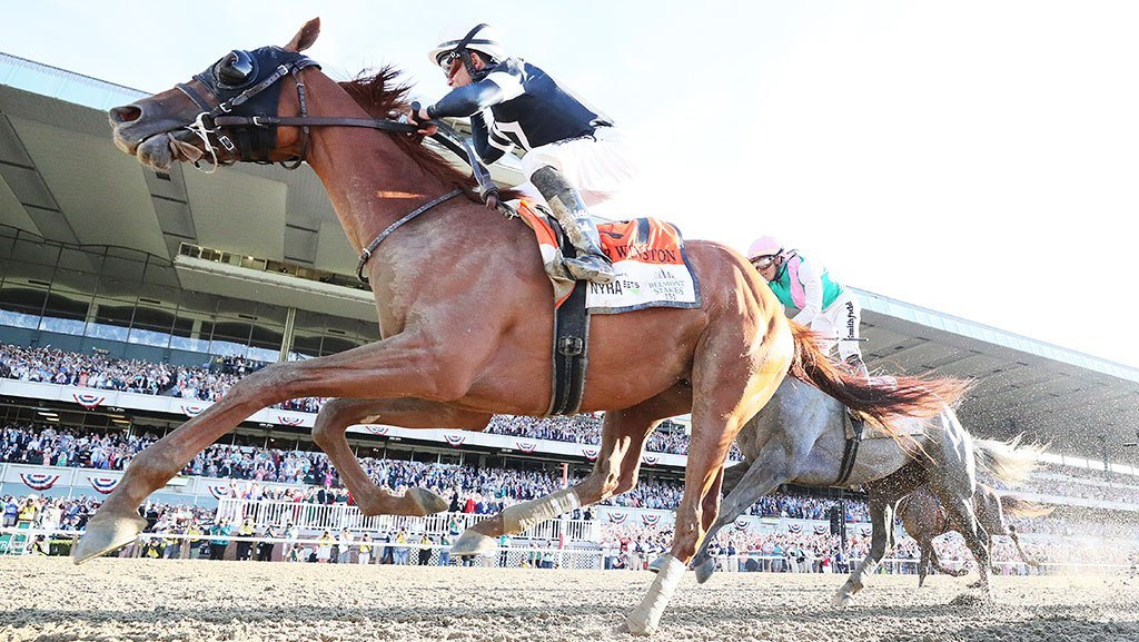 Belmont horse racing