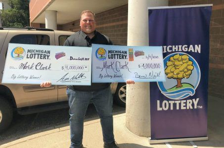 Michigan instant lottery scratch-off