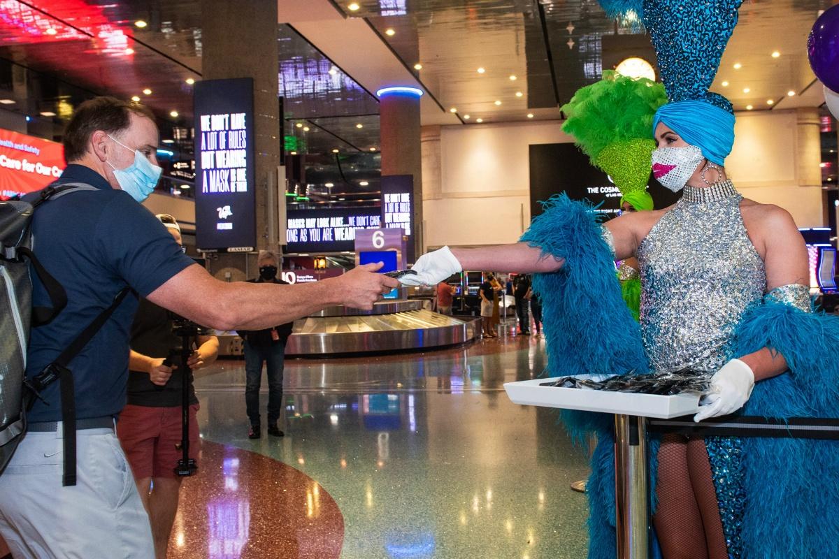 Nevada Las Vegas May casino revenue