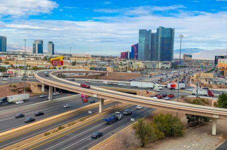 Tropicana Avenue I-15 Allegiant Stadium Las Vegas