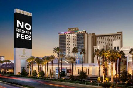 Sahara Las Vegas resort fees