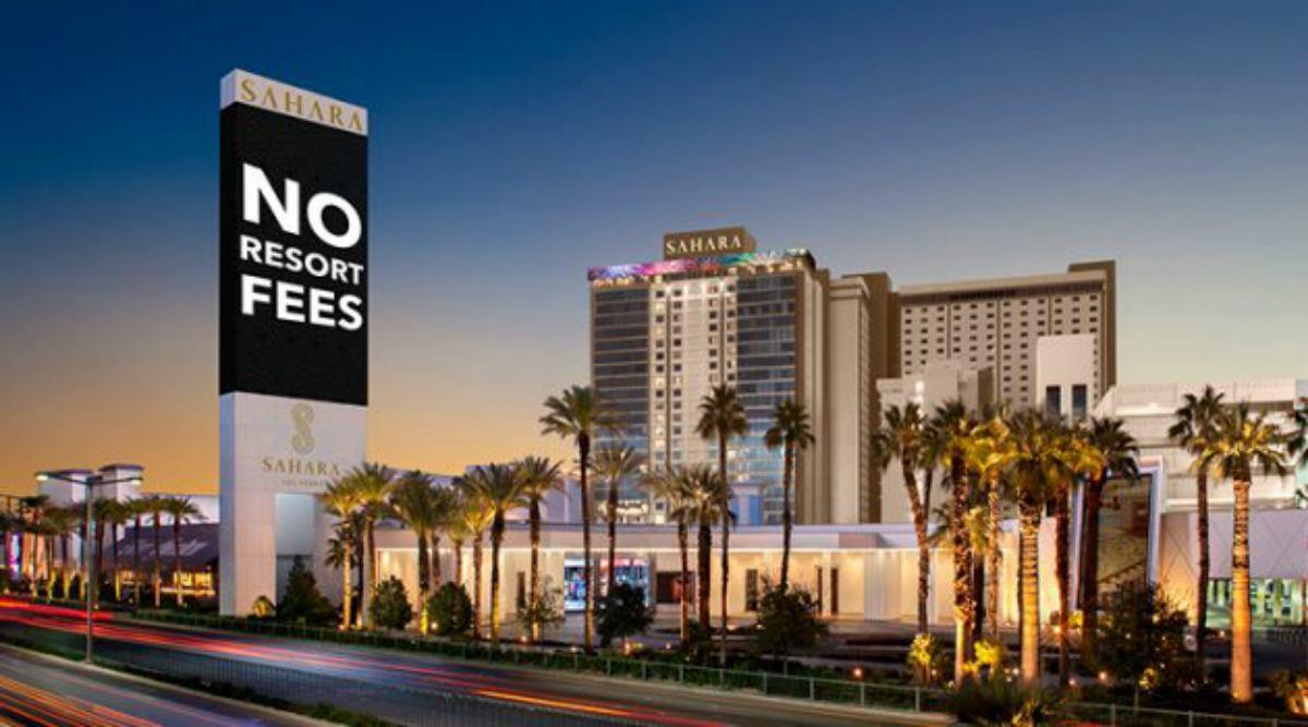 Sahara Las Vegas resort fees