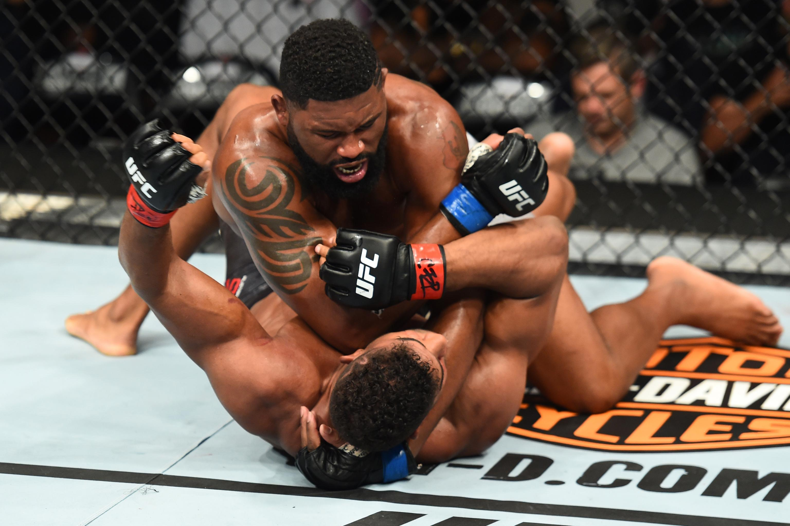 Curtis Blaydes UFC Fight Night