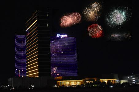 Atlantic City casinos July 4 Borgata