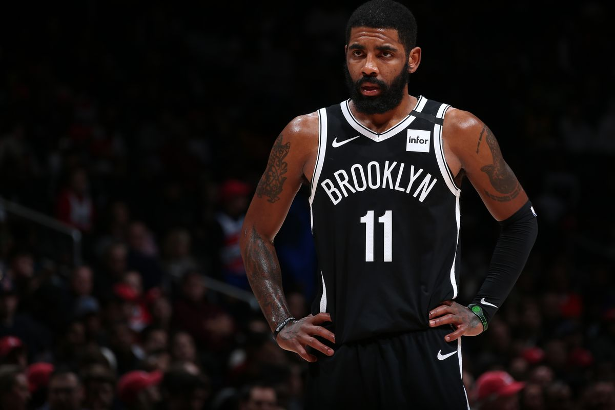 NBA Resumes Play Kyrie