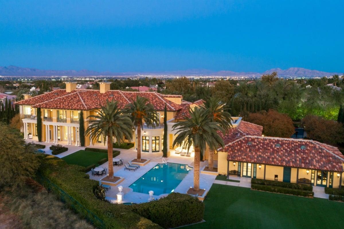 Steve Wynn Las Vegas mansion