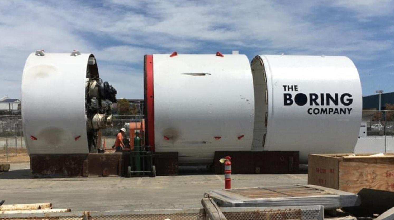 Elon Musk Underground Tunnel