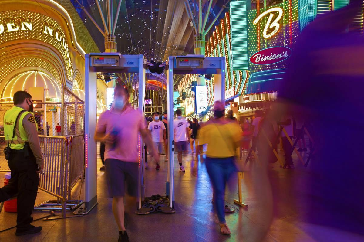 Nevada casinos face masks Las Vegas