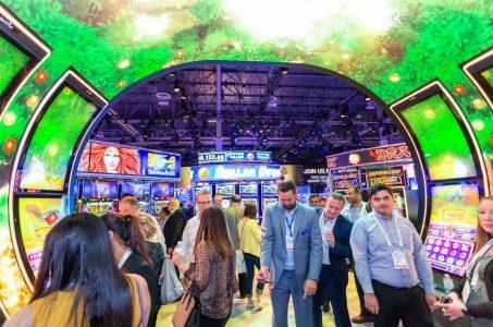 G2E tradeshow Las Vegas convention