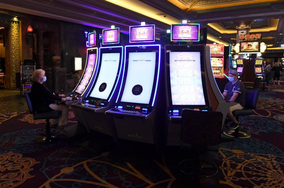 Nevada casinos gross gaming revenue