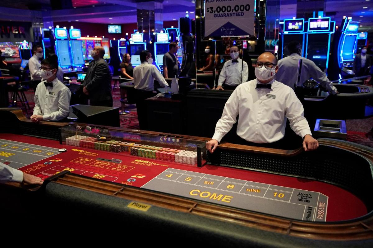 Nevada casinos compliance Las Vegas