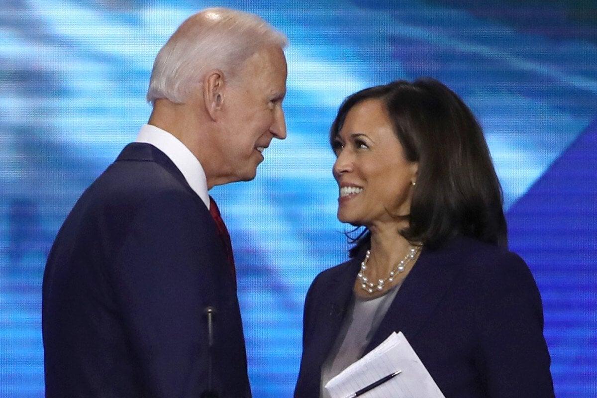 Kamala Harris Biden 2020 odds